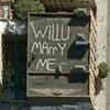 Seven huge declarations of love as seen on Google Maps.