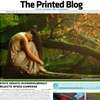Printed blog publication folds up due to lack of funding.