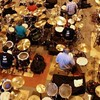 582 drummers manage to play their way into the records book.