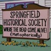 Eleven ingenious signs that happened to appear on The Simpsons.