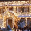 An extensive gallery of the most obnoxious holiday light decorations for you to gawk at.