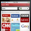 Opera Mini browser app now available for your beloved iPhone.