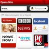 Opera Mini for iPhone shoots past one million downloads in the App Store.